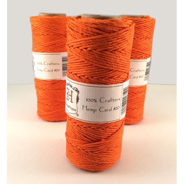 Hemp Twine - Orange