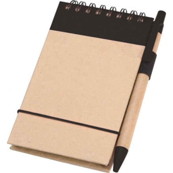 NATURE Recycled Paper Flip Notebook with matching ...