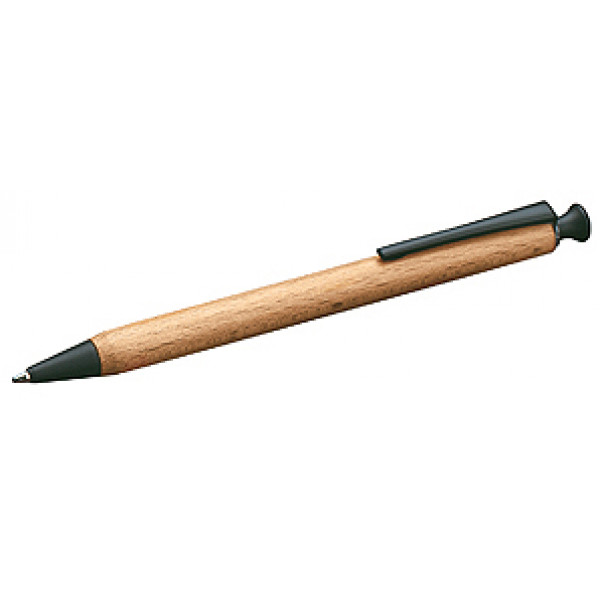 FSC-certified Wooden Gel Pen (Black)