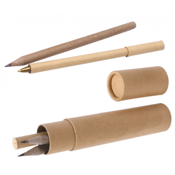 Eco Pen & Pencils Writing Set