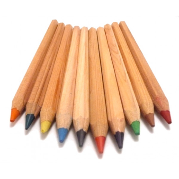 THICK Colour Pencils (Set of 10)