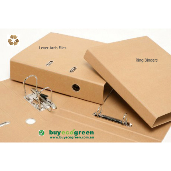 Recycled Lever Arch File (Box of 10)