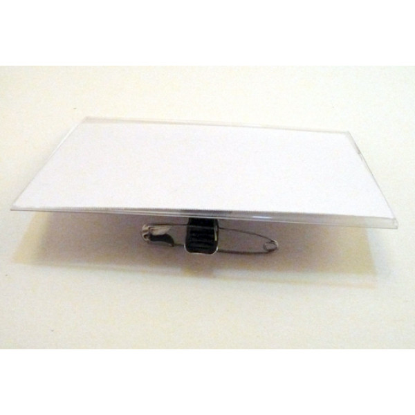 Recycled Convention Card Holders, with white recycled name cards. Pack 25.