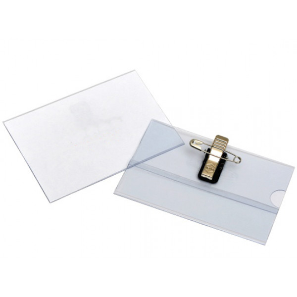Recycled Convention Card Holders, with white recyc...