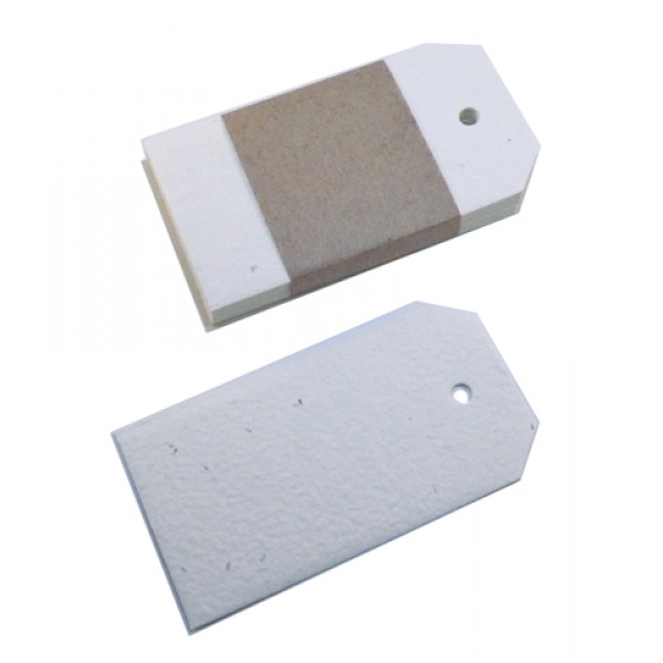 Seeded Paper Swing Tags 55mm x 100mm (pack of 25)