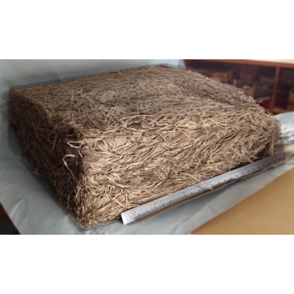 Shredded Recycled Paper (light Grey-Brown) - 9kg Box approx. (20 cubic)