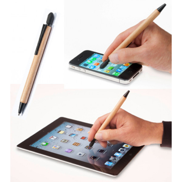 FSC-certified wooden Stylus Pen