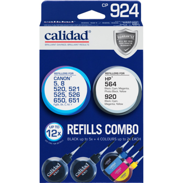 Ink Jet Refills Combo Pack (CP 924)