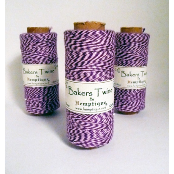 Bakers Twine - Light Pink and Purple