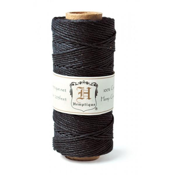 Hemp Twine - Black