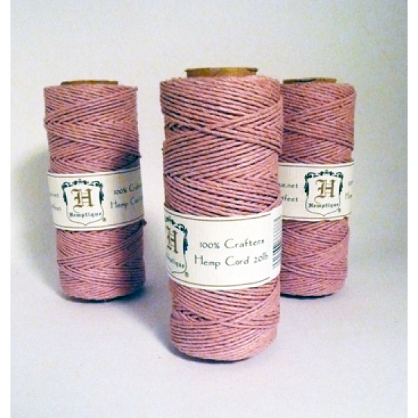 Hemp Twine - Dusty Pink