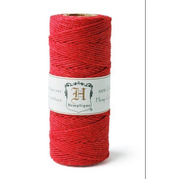 Hemp Twine - Red