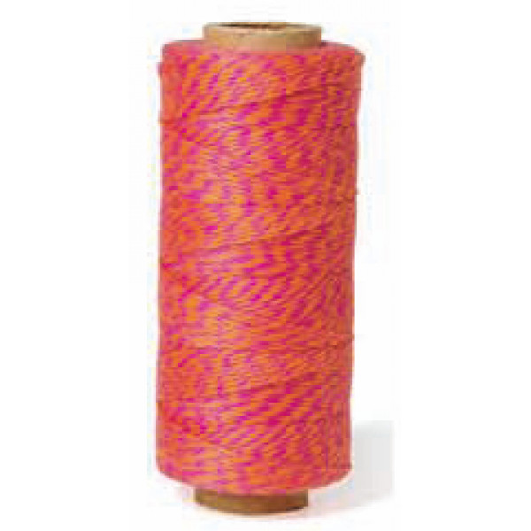 Bakers Twine - Pink and Orange
