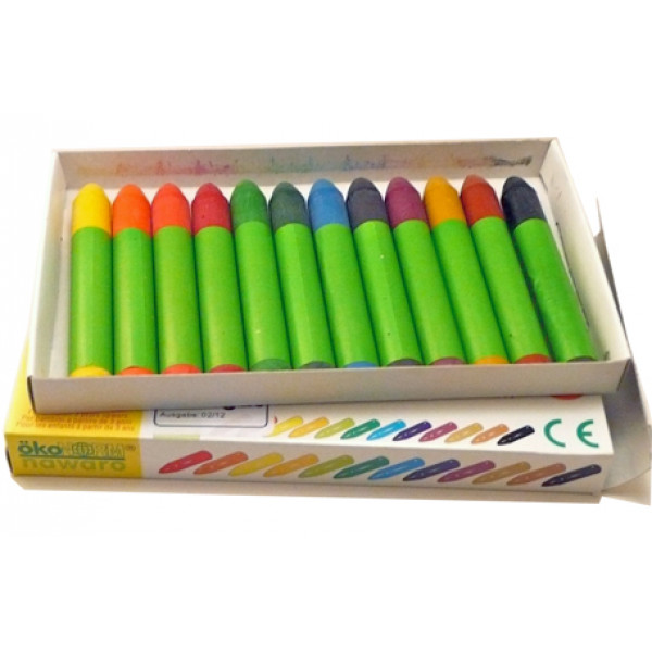 Nawaro Wax Crayons (Pack of 12)