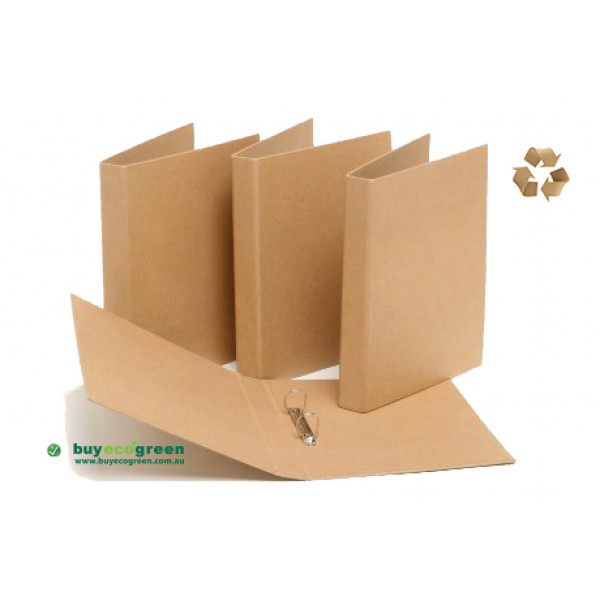 Recycled Ring Binder  (A4)  (Box of 24)