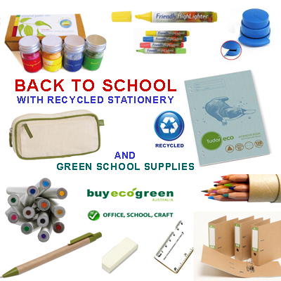 Back To School Recycled Stationery from BuyEcoGreen