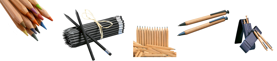 FSC certified timber pens and pencils